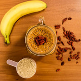 Raw Banana Goji Protein Smoothie