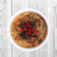 Raw Gluten-Free Superfood Oatmeal Munch Bowl