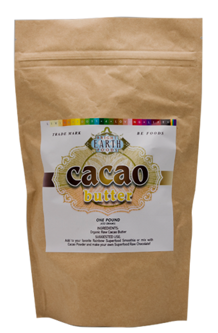 Cacao Butter 1lb, raw, vegan