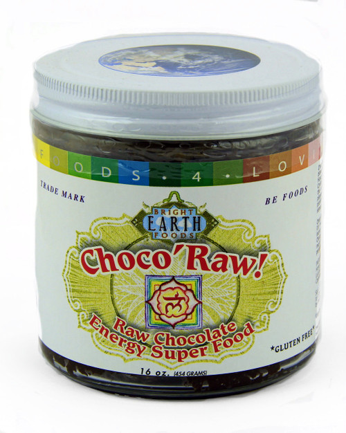 Choco'Raw 1lb Glass Jar