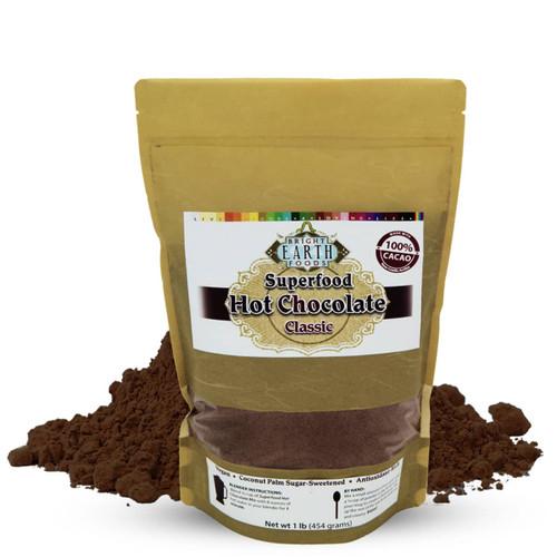 Superfood Hot Chocolate, Raw, Vegan, Dairy-Free