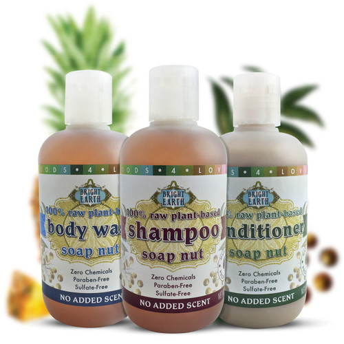 Body Wash, Shampoo, Conditioner (8 fl.oz)