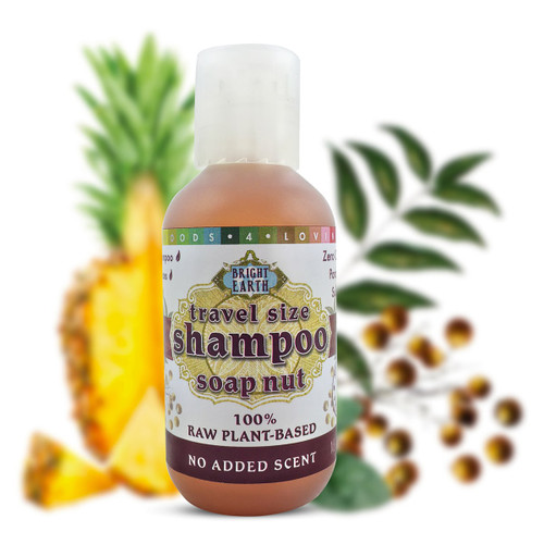 100% Raw Plant-Based Vegan Shampoo 2oz