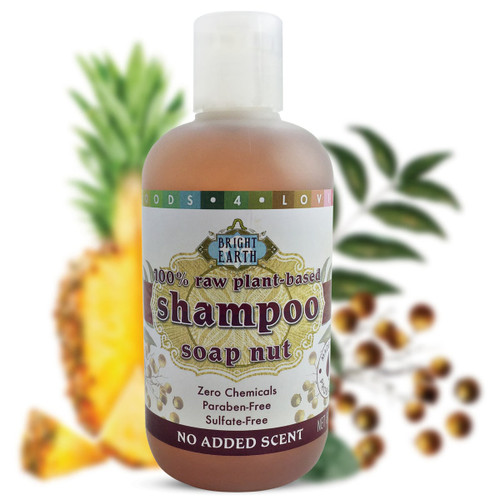100% Raw Plant-Based Vegan Shampoo 8oz