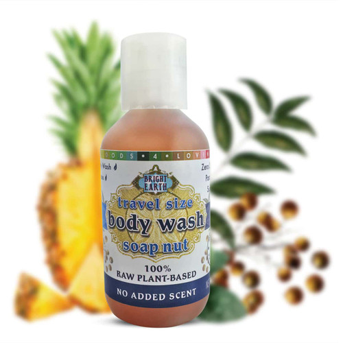 100% Raw, Plant-Based, Vegan Body Wash 2oz
