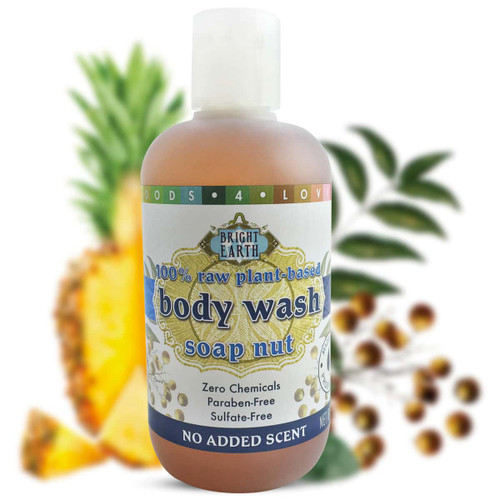 100% Raw, Plant-Based, Vegan Body Wash 8oz