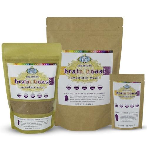 Organic Raw Herbal Brain Boost All Sizes