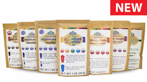 Superfood Smoothie Variety Pack, Raw, Vegan, Non-Gmo