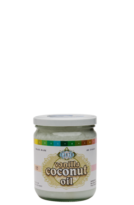 Vanilla Coconut Oil - 16oz