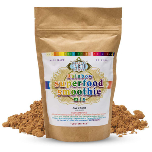 Rainbow Superfood Smoothie Mix 1lb (16oz), Raw, Vegan, Non-GMO
