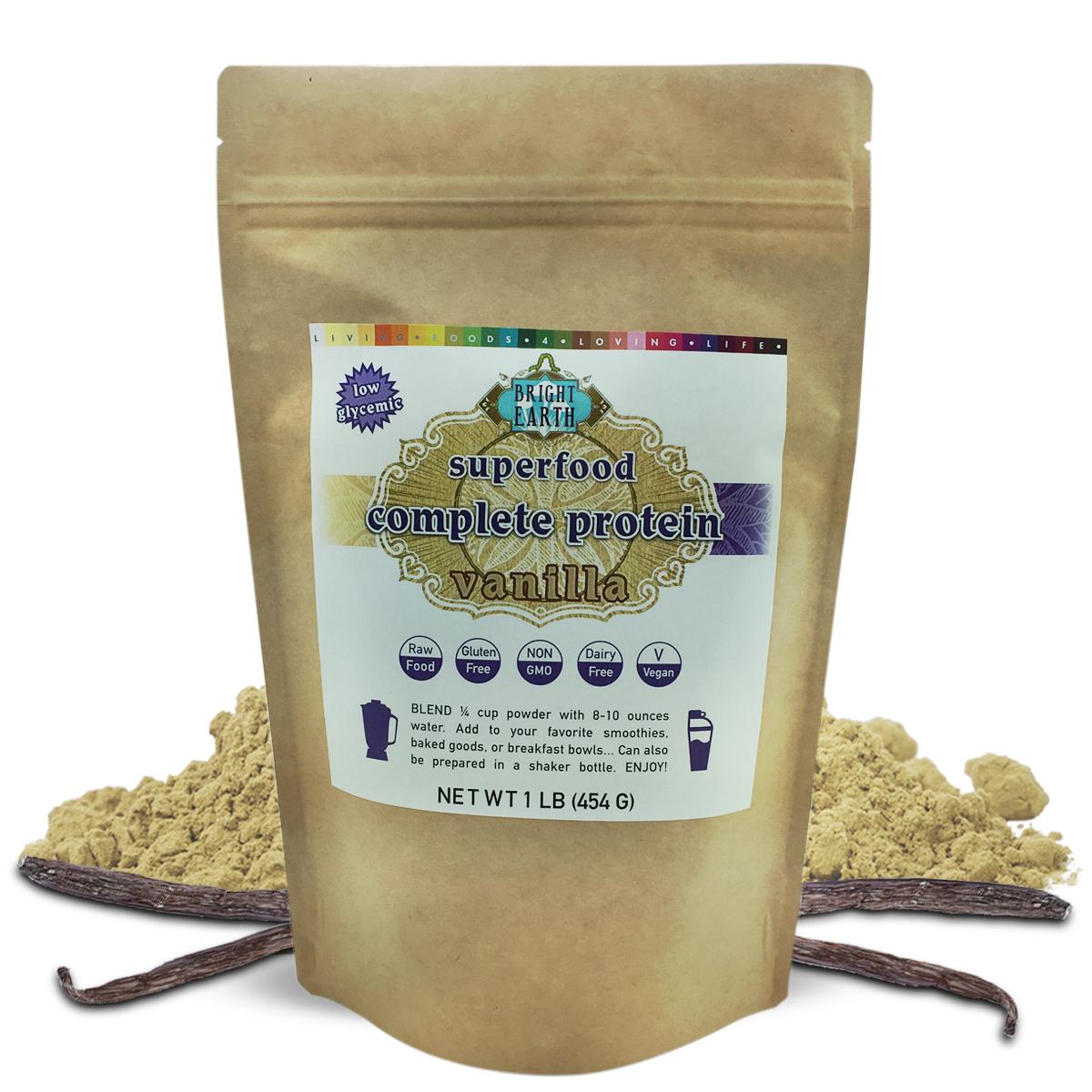 Organic Raw Vegan Plant-Based Protein Powder