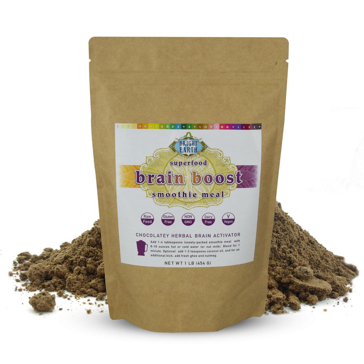 Organic Raw Vegan Brain Boost Superfood Smoothie