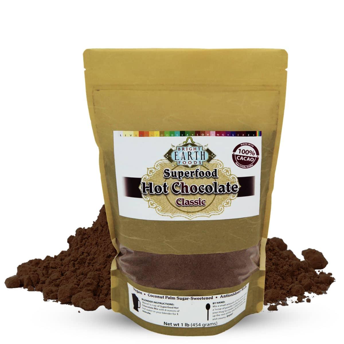 Organic Vegan Raw Superfood Hot Chocolate