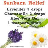 Sunburn Relief