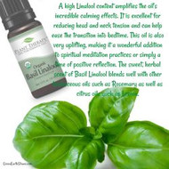 We now carry Basil Linalool Organic Essential Oil!