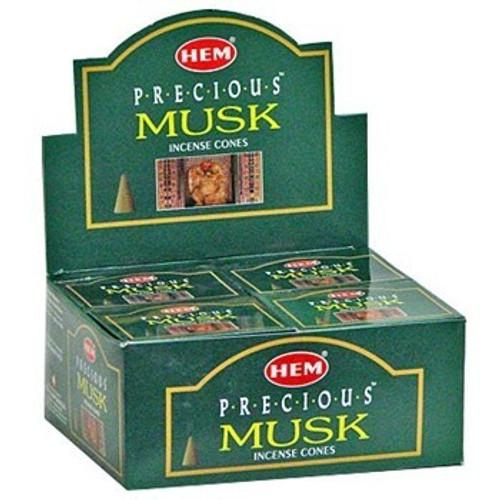 HEM Precious Musk Incense Cones