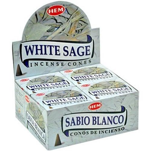 HEM White Sage Incense Cones