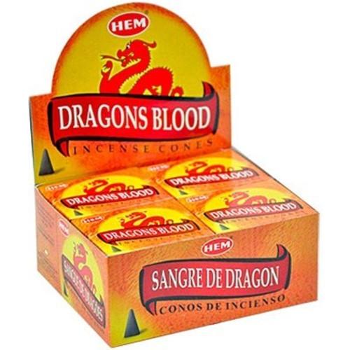 HEM Dragons Blood Incense Cones