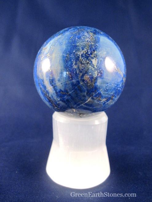 Selenite Sphere Stand