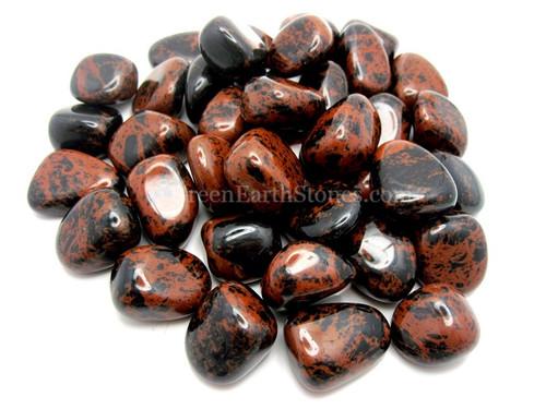 Mahogony Obsidian Tumble Stone