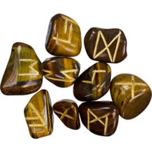 Tigers Eye  Rune Stones