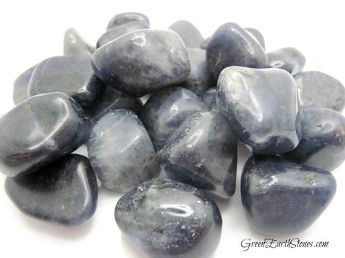 Iolite Tumbled Stone