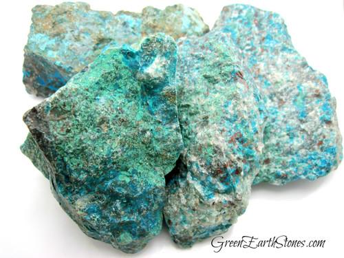 Chrysocolla Natural Stone XL