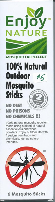 Enjoy Nature Mosquito Incense