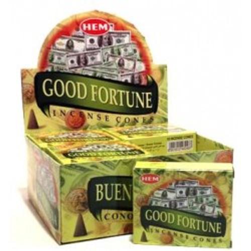 HEM Good Fortune Incense Cones