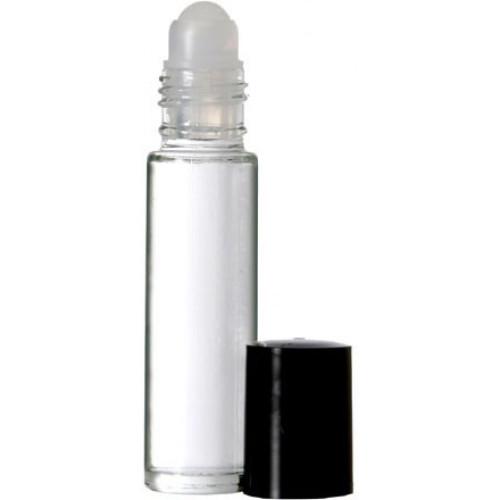 Clear Roll On Glass Bottle 1/3oz