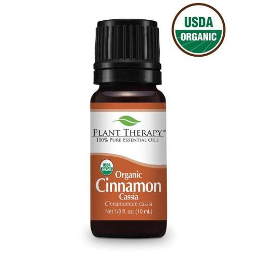 Cinnamon Cassia Organic Essential Oil 10ml