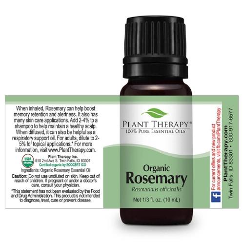 Rosemary 1, 8-Cineole  Organic Essential Oil 10ml