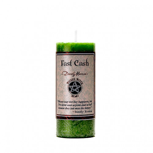Dorothy Morrison FAST CASH  Wicked Witch Mojo Candle
