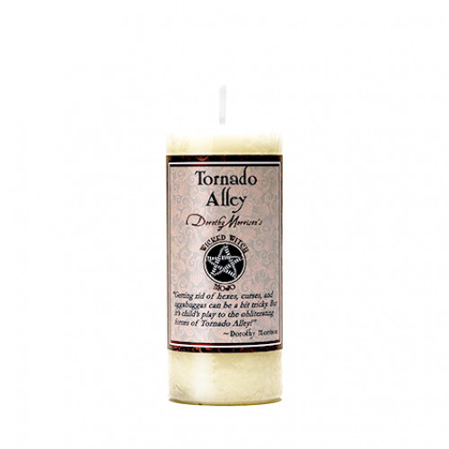 Dorothy Morrison TORNADO ALLEY  Wicked Witch Mojo Candle
