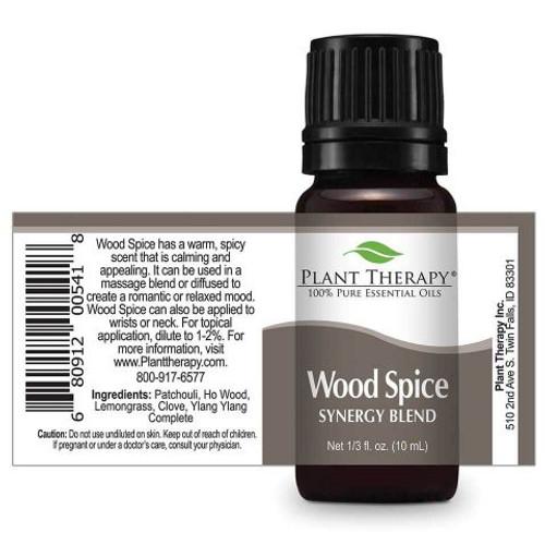 Wood Spice Essential Oil 10ml