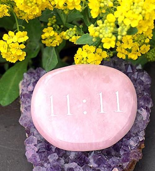 11:11 Stone Rose Quartz