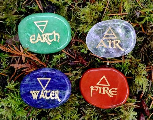 Four Elements Stone Set