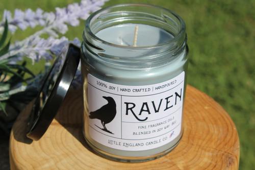 Raven 8oz Soy Candle