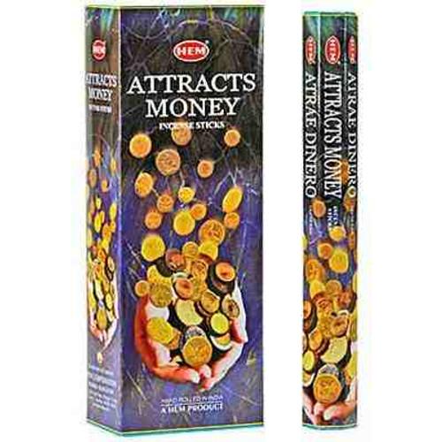 Hem Attracts Money Incense 20 sticks