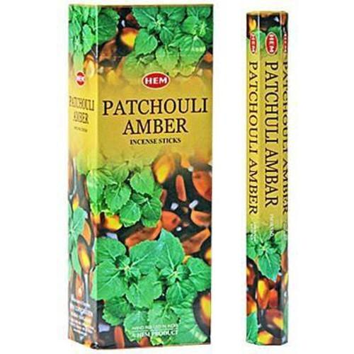 Hem Patchouli Amber Incense 20 sticks