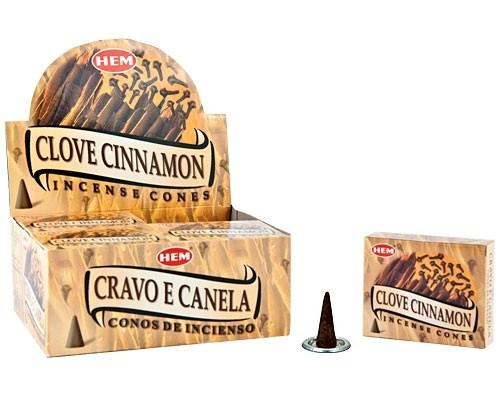 HEM Clove Cinnamon Incense Cones