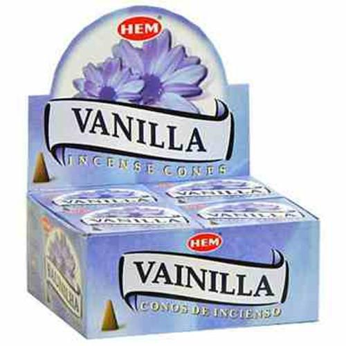 HEM Vanilla Incense Cones