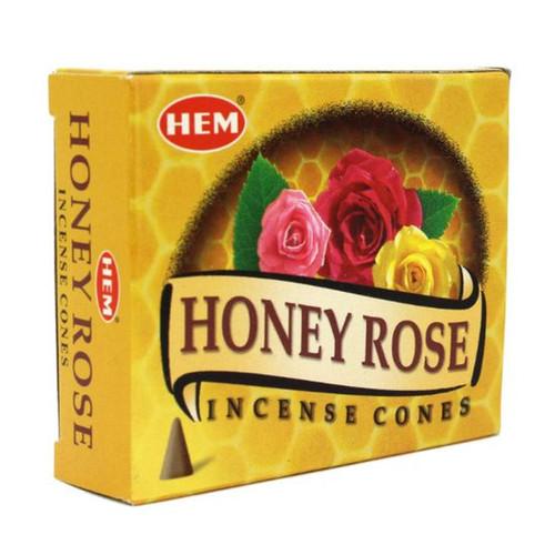 HEM Honey Rose Incense Cones