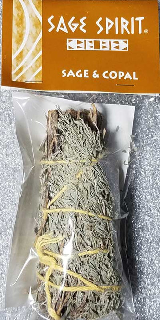 Sage and Copal  Smudge Stick