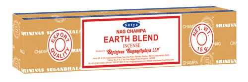 Nag Champa Earth Blend 15 GM Incense Sticks