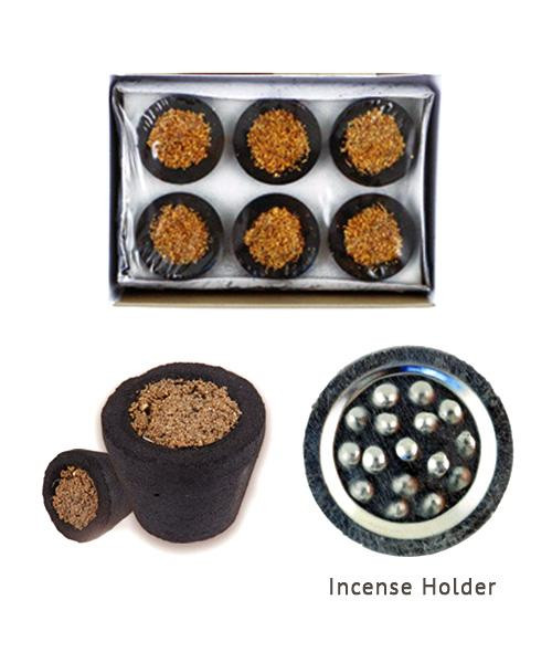 White Sage Incense Cups