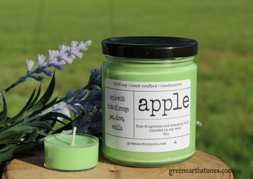 Apple 8oz Soy Candle