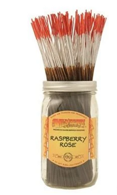 Raspberry Rose Incense 15 sticks