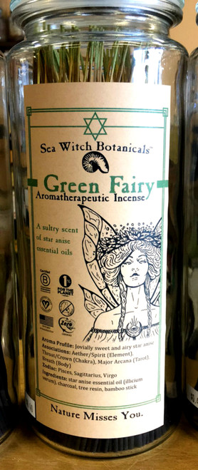Green Fairy Incense 10 sticks