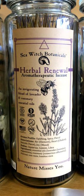 Herbal Renewal Incense 10 sticks